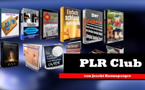 PLR Club- Geld verdienen mit PLR